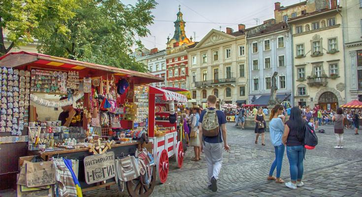 Market Square Lviv