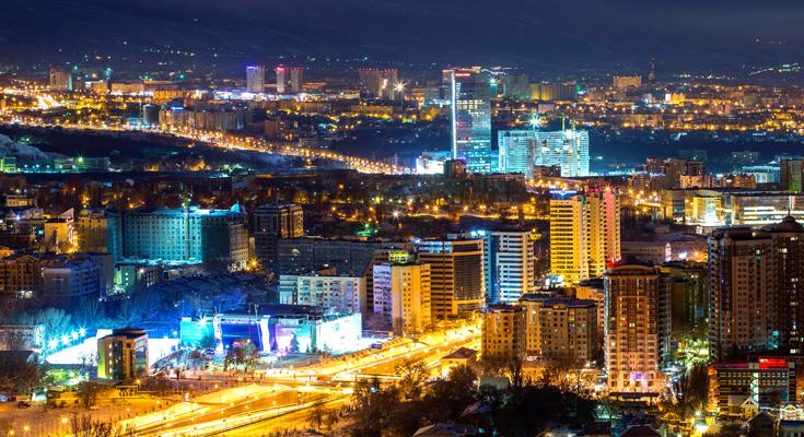New Year in Kazakhstan