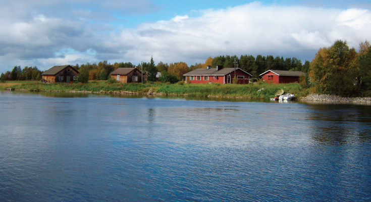 Nellim Lake Inari