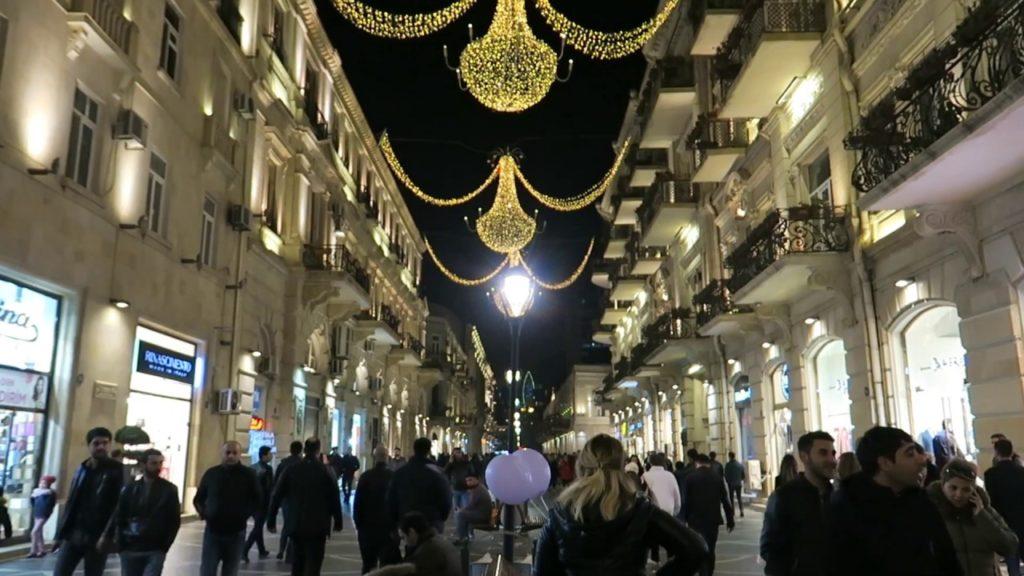 Shopping in Nizami Street
