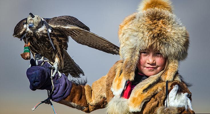Falconry in Almaty