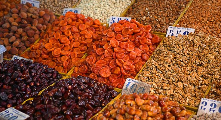 Local Bazaars in Almaty
