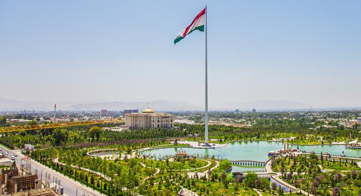 Dushanbe Flag Pole