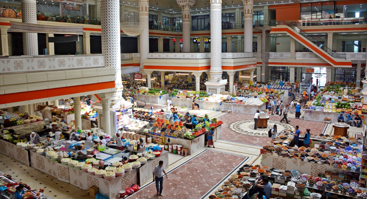Mehrgon and Korvon Bazaar