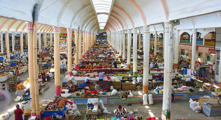 Panjshanbe Market Khujand