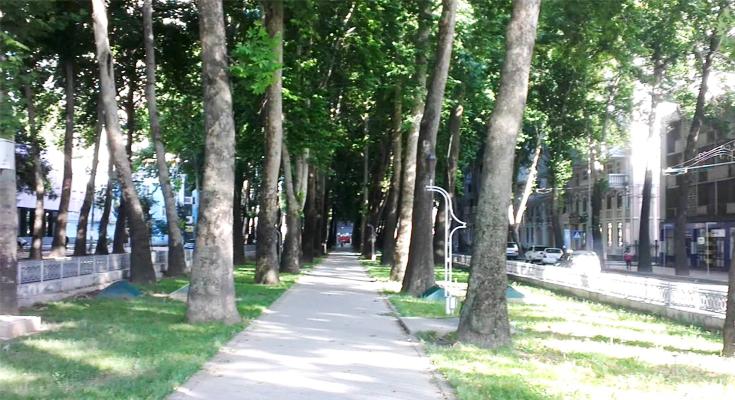 Rudaki Avenue Tajikistan
