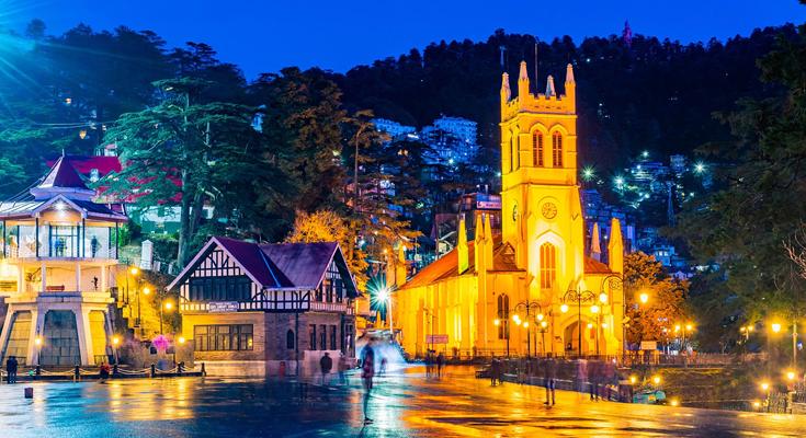 Shimla in New Year